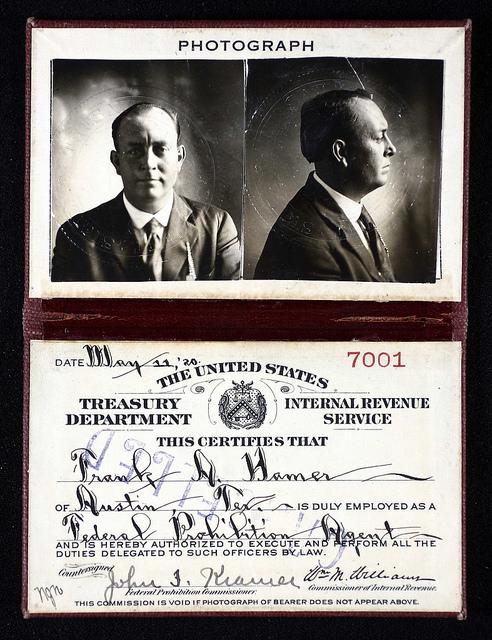 IRS-Agent-Frank Hamer